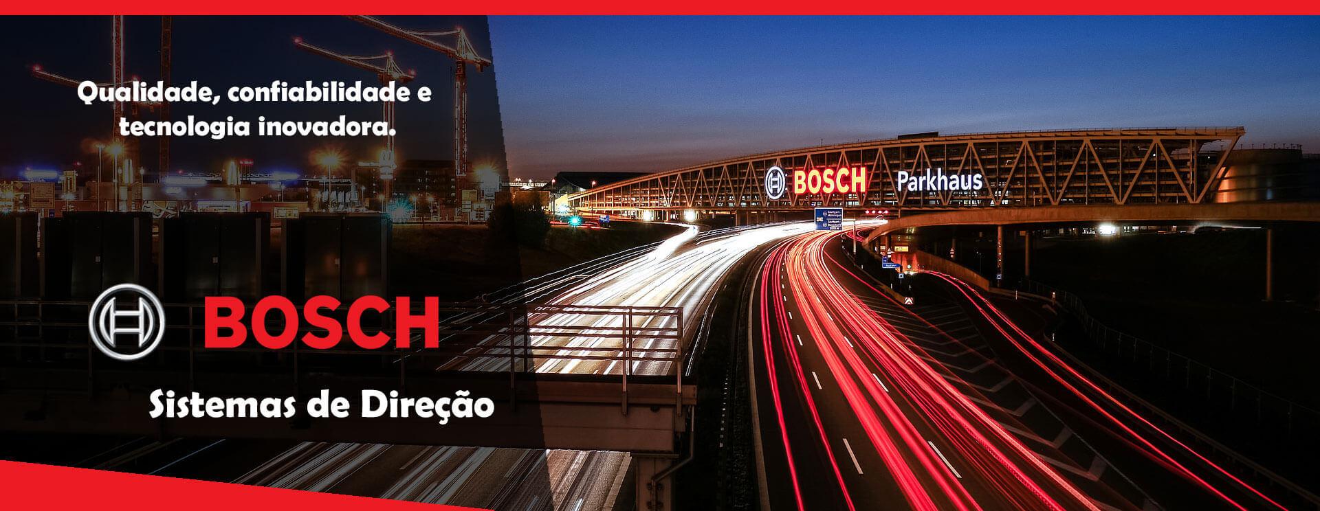 Control Parts trabalha com Sistemas de direcao Bosch