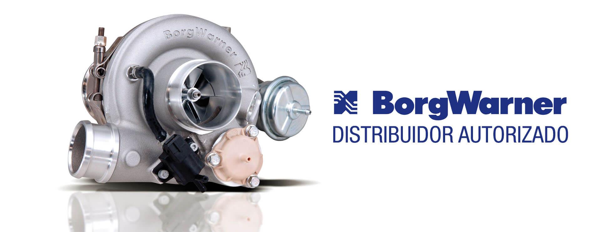Control Parts distribuidora de Turbos Borgwarner